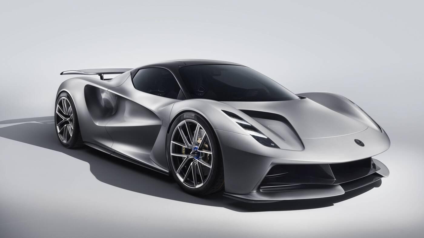Oto Lotus Evija, najmocniejszy elektryczny samochód w historii