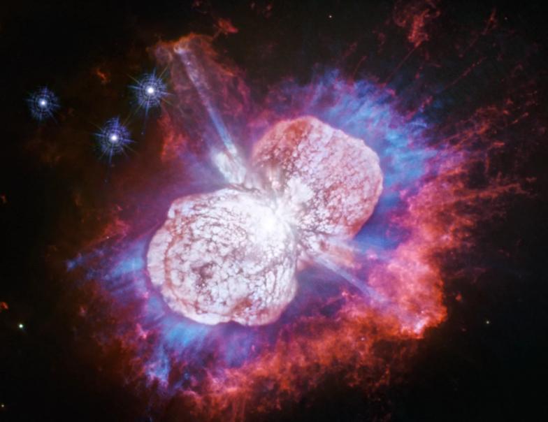 """Niesamowity obraz pokazuje kosmiczne """"fajerwerki"""""""