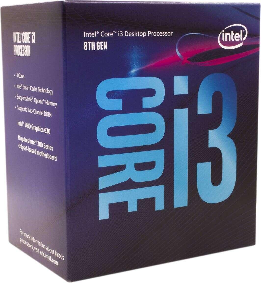 Test procesora Intel Core i3-8350K