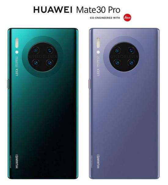 Huawei Mate 30 Pro, ekran Huawei Mate 30 Pro, wyświetlacz Huawei Mate 30 Pro, stosunek ekranu Huawei Mate 30 Pro, obudowa Huawei Mate 30 Pro, render Huawei Mate 30 Pro, rendery Huawei Mate 30 Pro