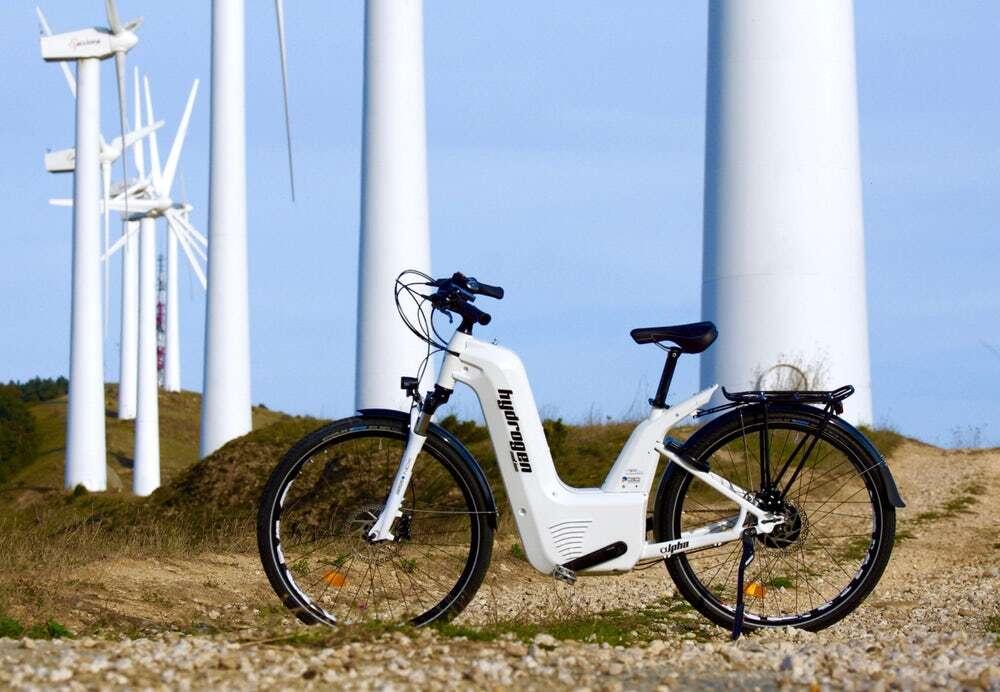 Alter Bike pierwszym na świecie rowerem z ogniwami paliwowymi