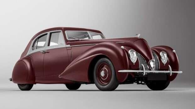 Bentley odtworzył model Corniche po 80 latach