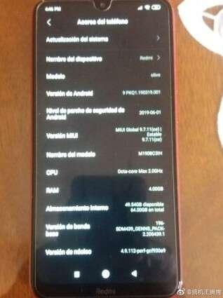 Redmi 8, zdjęcia Redmi 8, relane zdjęcia Redmi 8, wygląd Redmi 8, design Redmi 8, przód Redmi 8, tył Redmi 8, plecy Redmi 8, ekran Redmi 8,