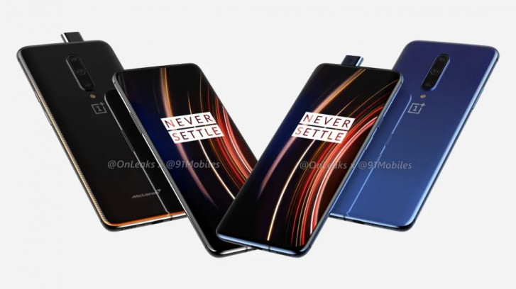 OnePlus 7T Pro, wygląd OnePlus 7T Pro, render OnePlus 7T Pro, rendery OnePlus 7T Pro, design OnePlus 7T Pro