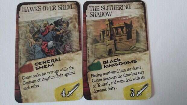 Age of Conan karty