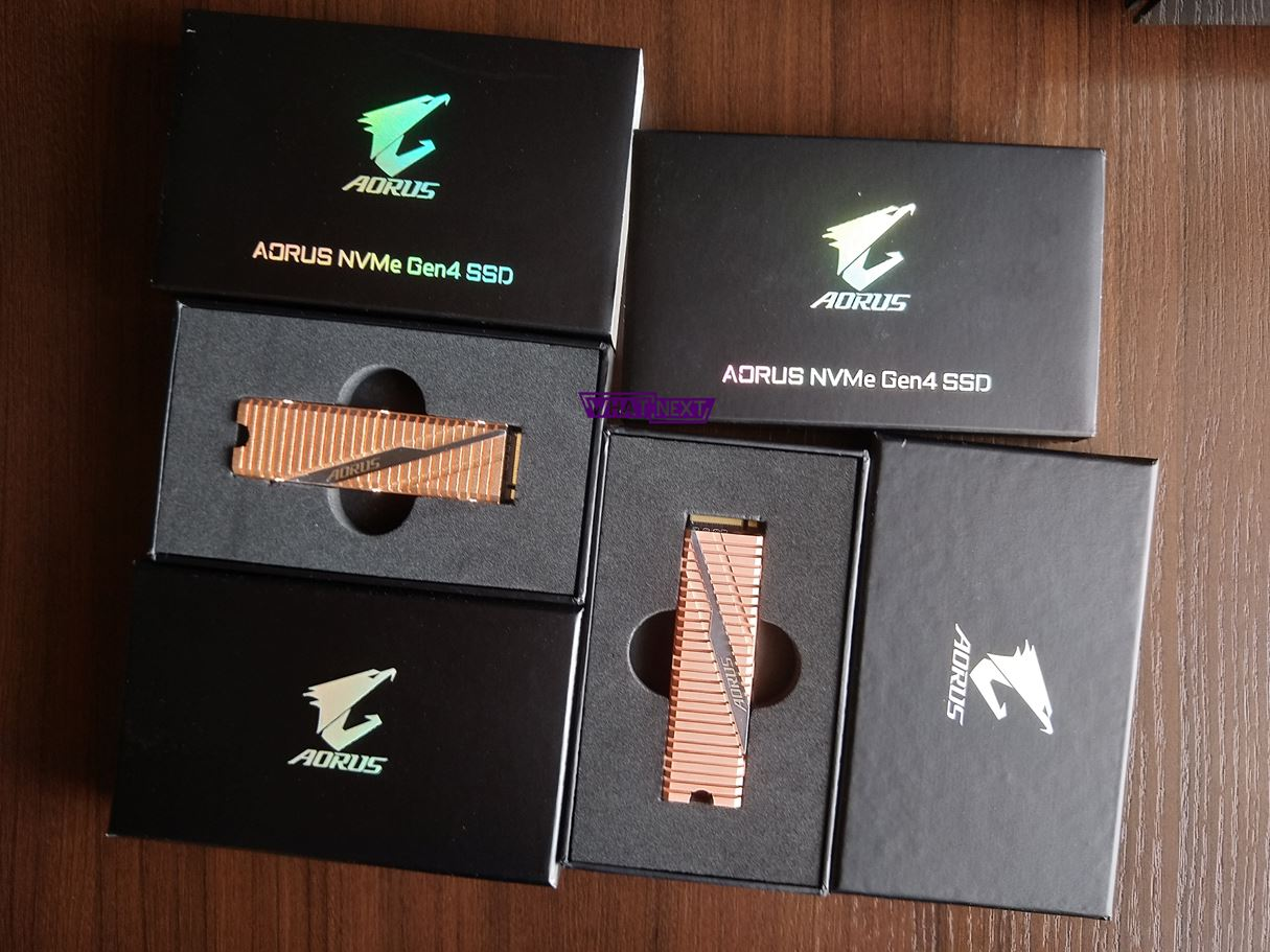 Test dysków Gigabyte AORUS na PCIe 4.0 w 1 i 2 TB wersji