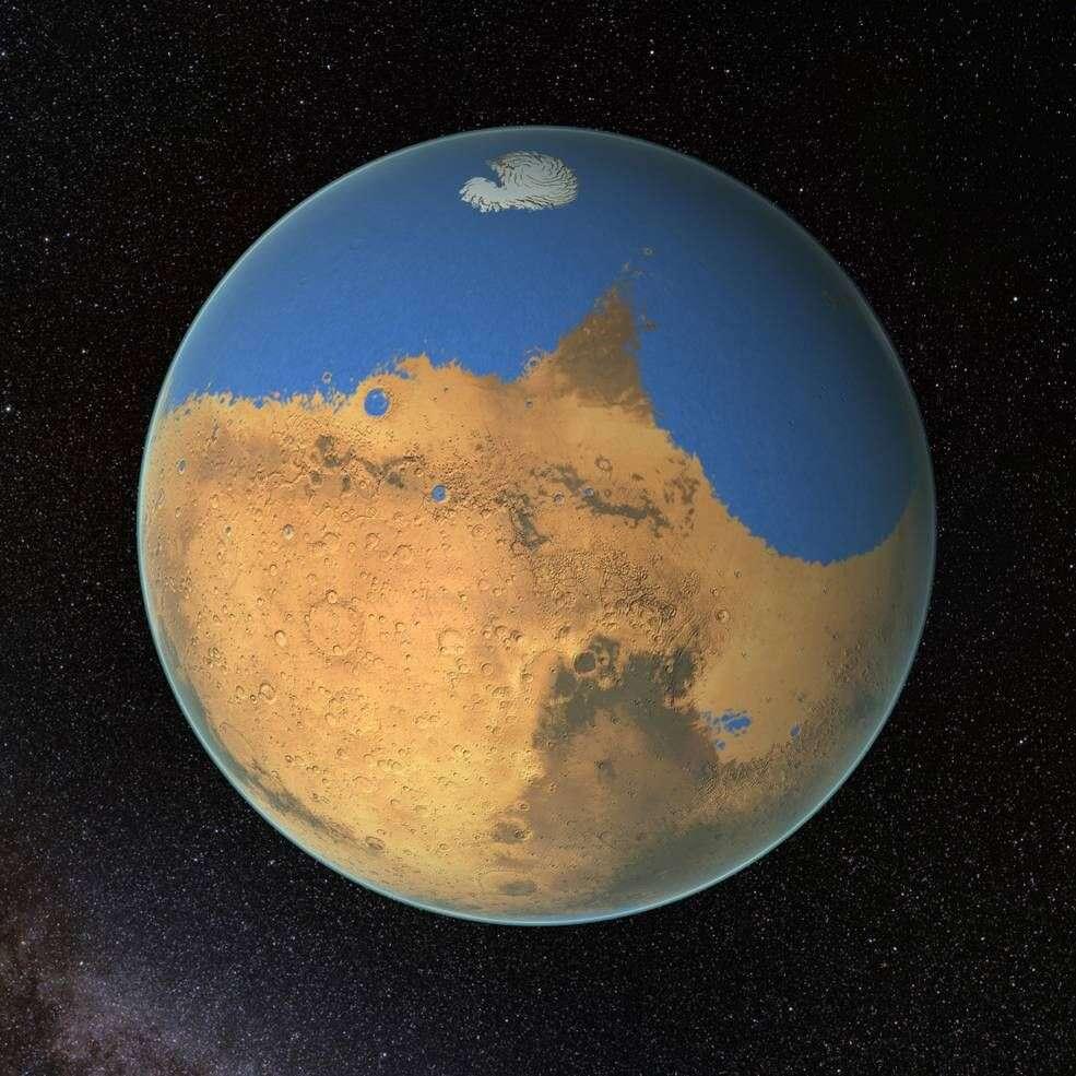 3,5 mld lat temu na Marsie miało wystąpić potężne tsunami