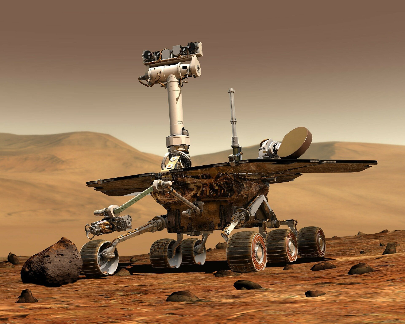 Metan na Marsie nie jest uwalniany na skutek wiatru