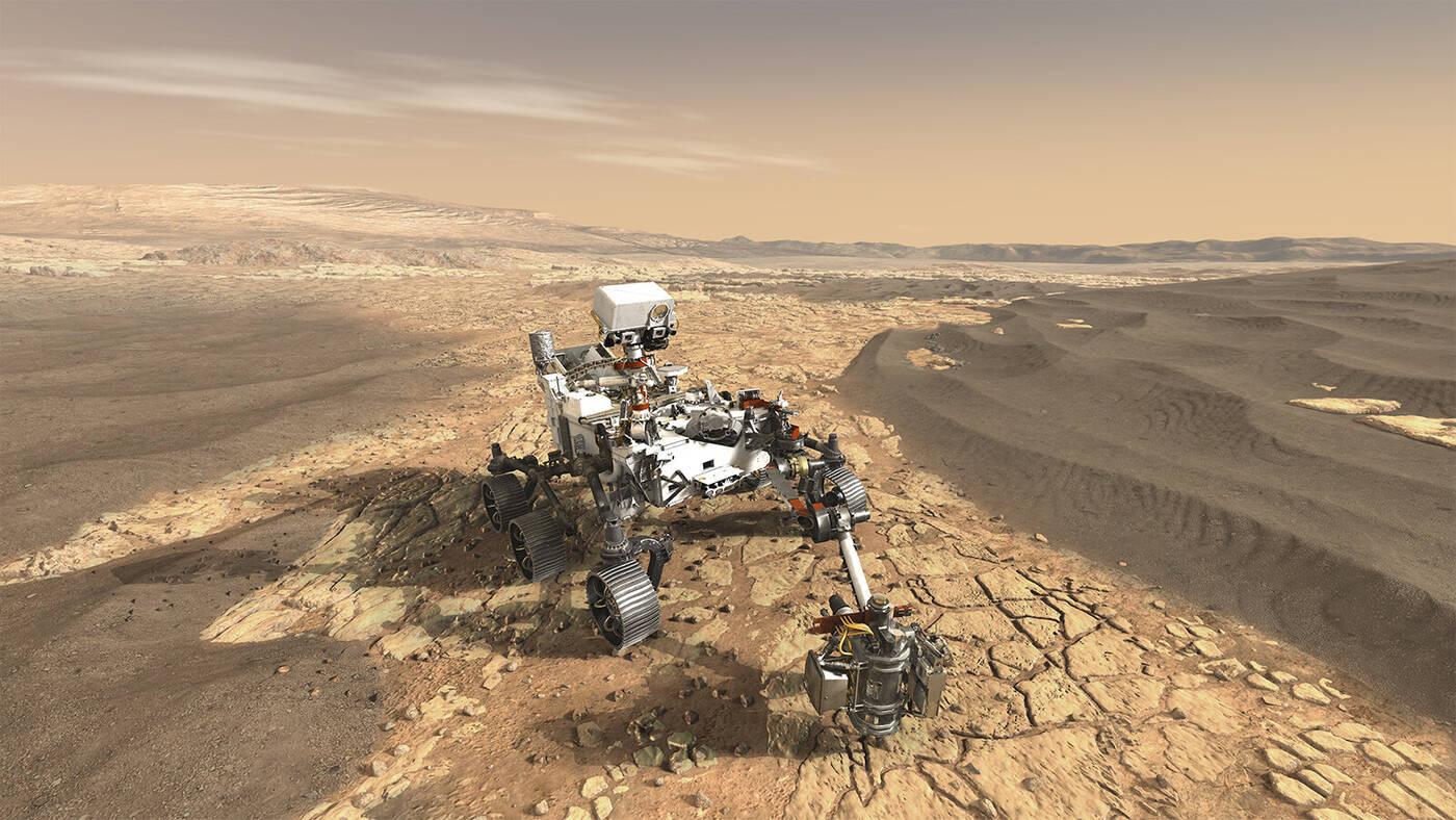 W przeszłości na Marsie padały deszcze
