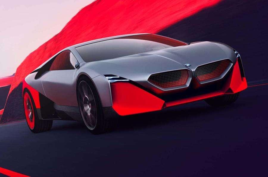 BMW Vision M Next, czyli wizja dwumiejscowej sportowej hybrydy