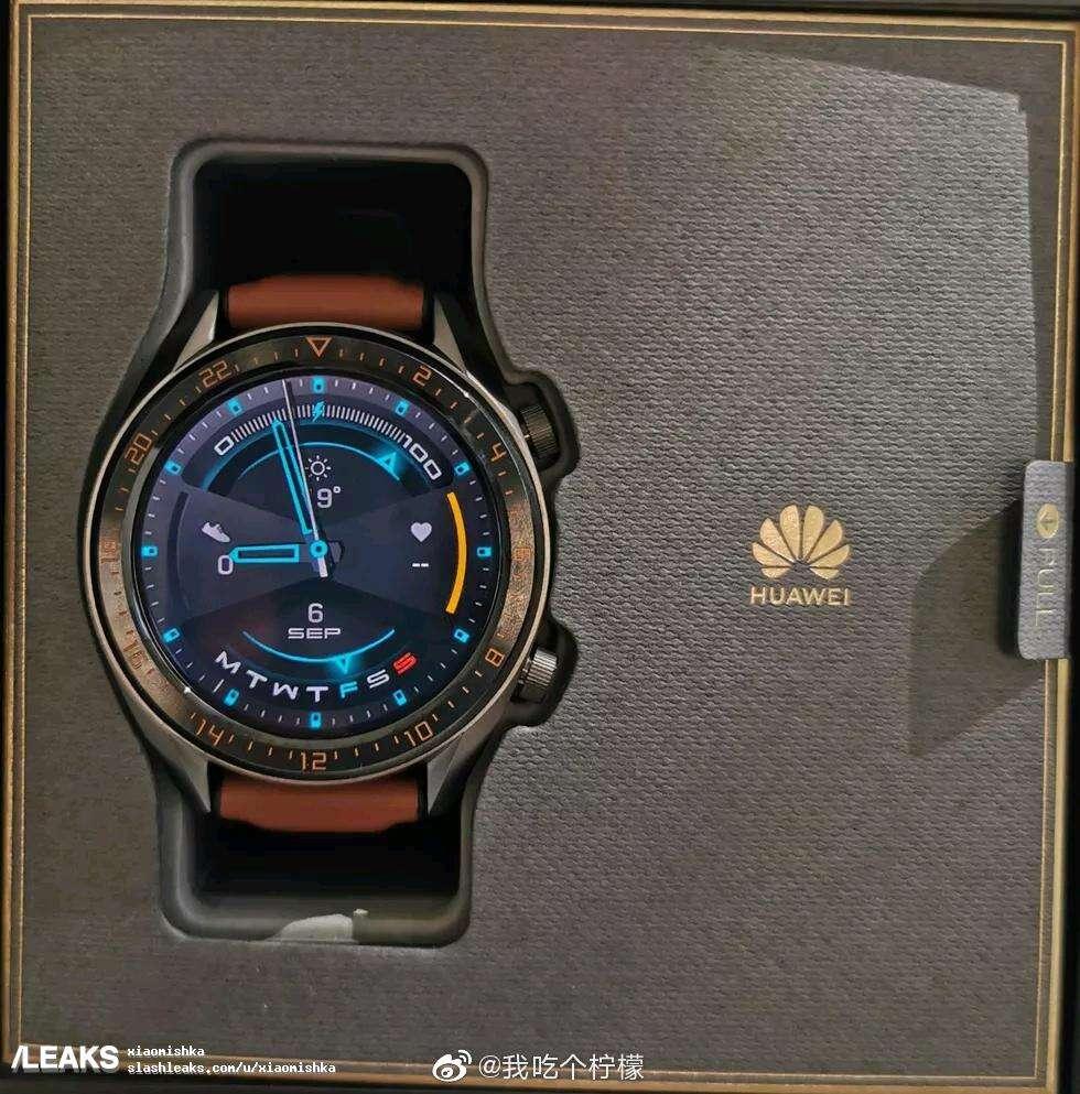 Huawei Watch GT 2, rendery Huawei Watch GT 2, wygląd Huawei Watch GT 2, design Huawei Watch GT 2, specyfikacja Huawei Watch GT 2