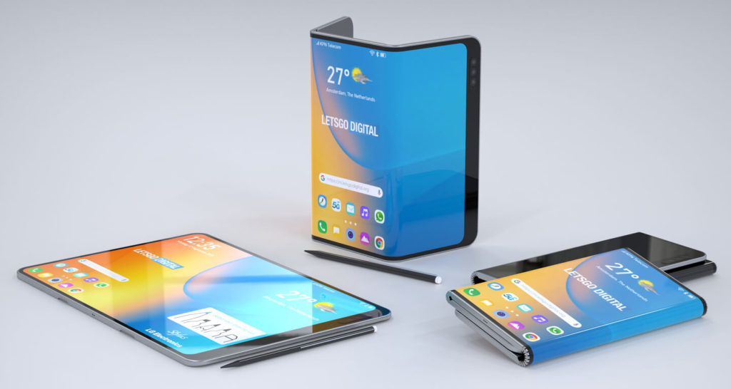 LG, składany smartfon LG, patent składany smartfon LG, wygląd składany smartfon LG, design składany smartfon LG, ramki składany smartfon LG,