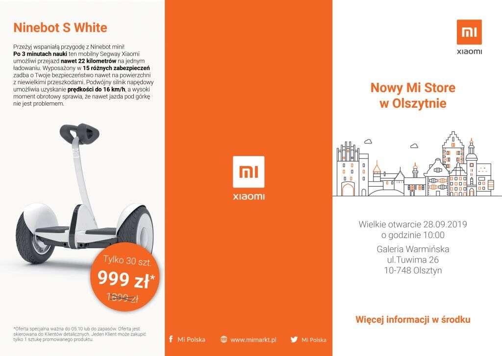 Mi Store, Olsztyn Mi Store, xiaomi Mi Store, dziewiąty Mi Store, otwarcie Mi Store, otwarcie Mi Store Olsztyn