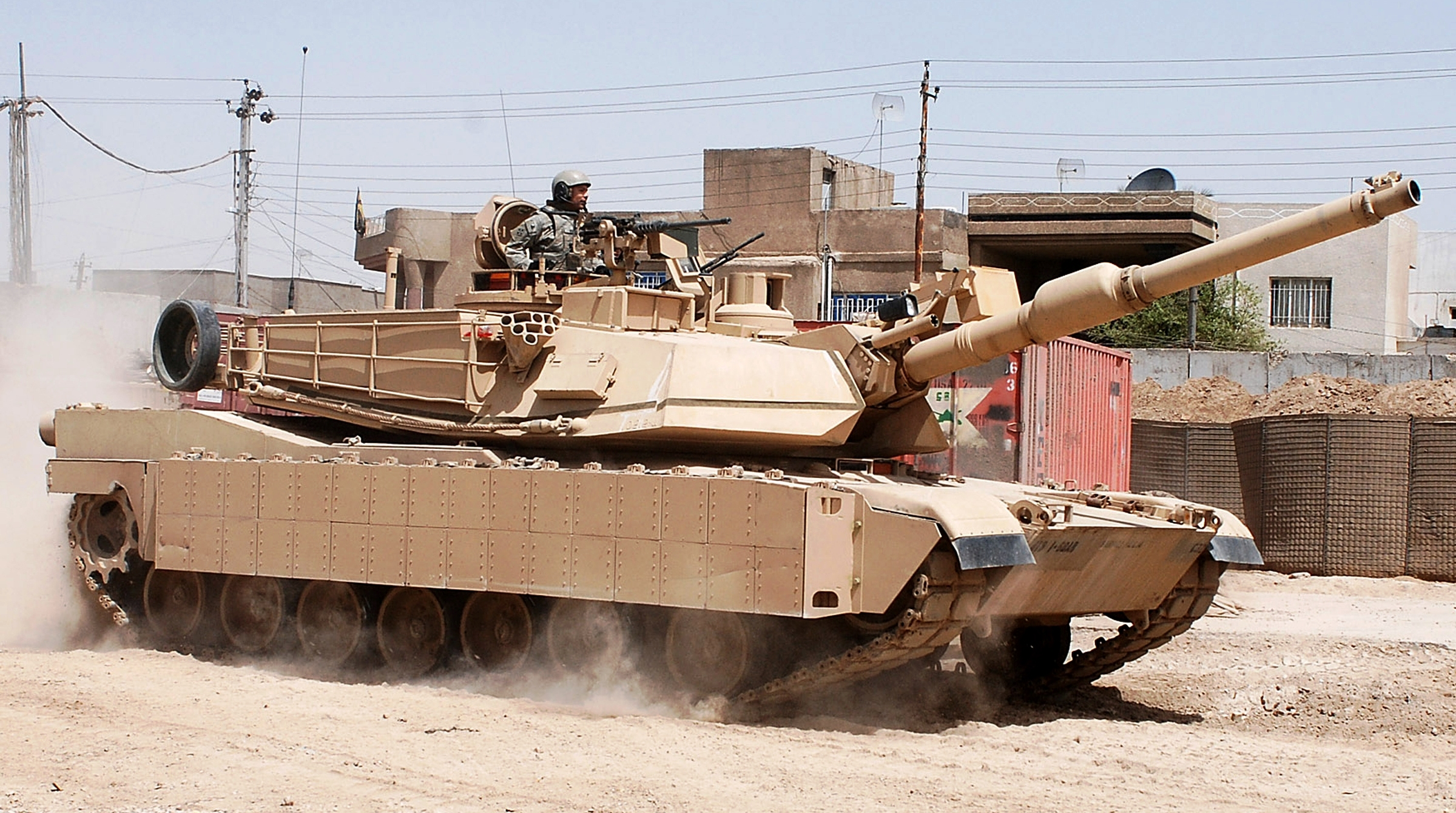 Problem czołgu M1A2 Abrams. Ten bydlak staje się coraz cięższy