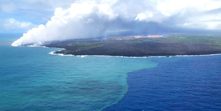 Erupcja wulkanu miała korzystny wpływ na ocean