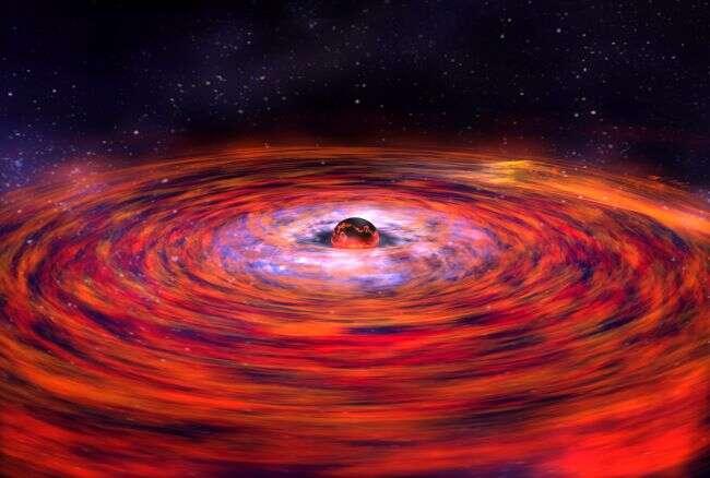 Astronomowie dekodują dziwny wzór pochodzący z gwiazdy neutronowej