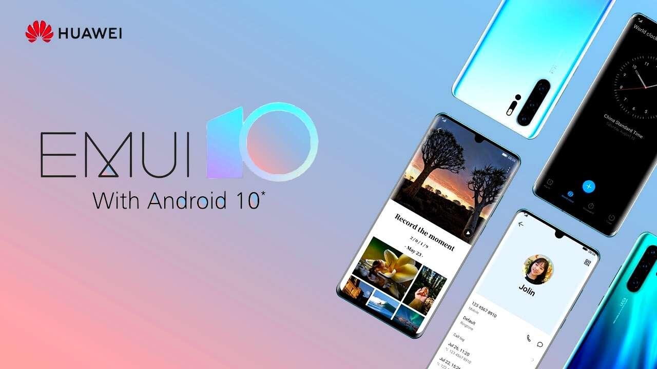 8 smartfonów Huawei otrzymuje globalną wersję EMUI 10 beta