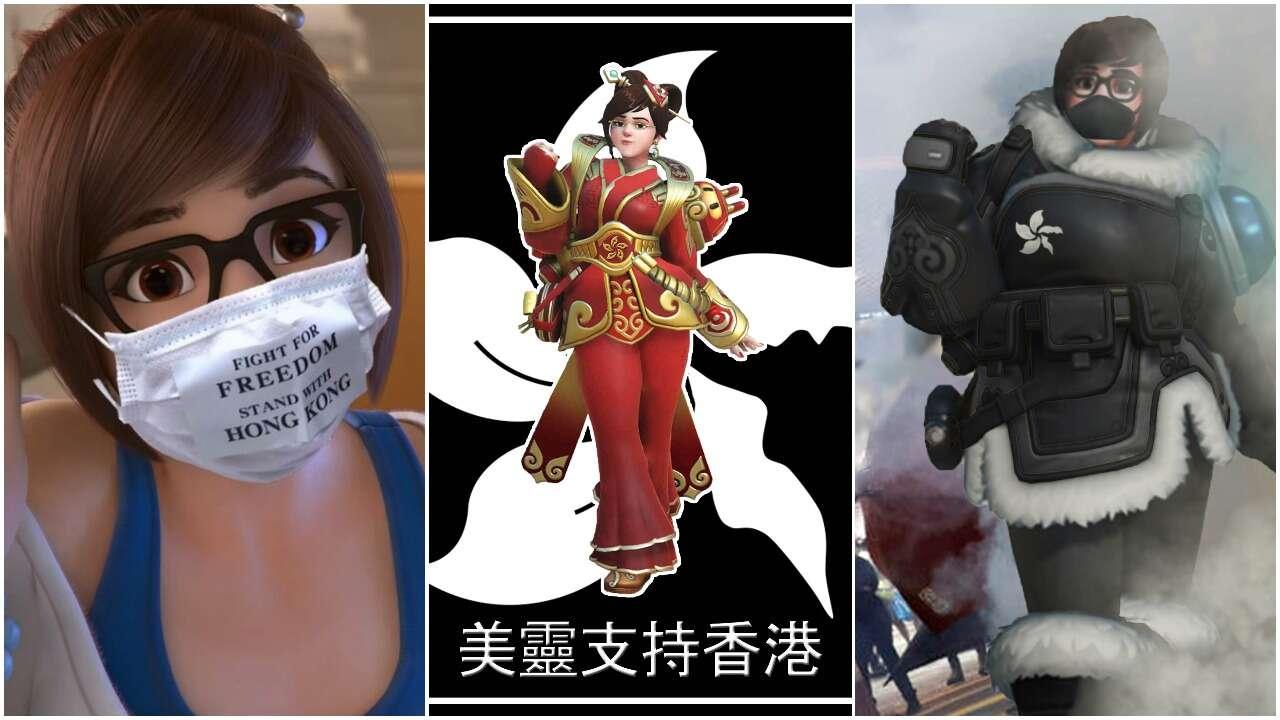 Bohaterka Overwatch jako symbol protestów w Hong Kongu – gracze chcą zbanować grę