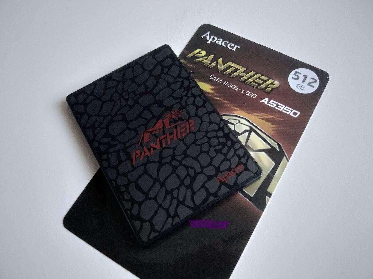 Test dysku Apacer Panther AS350 512 GB