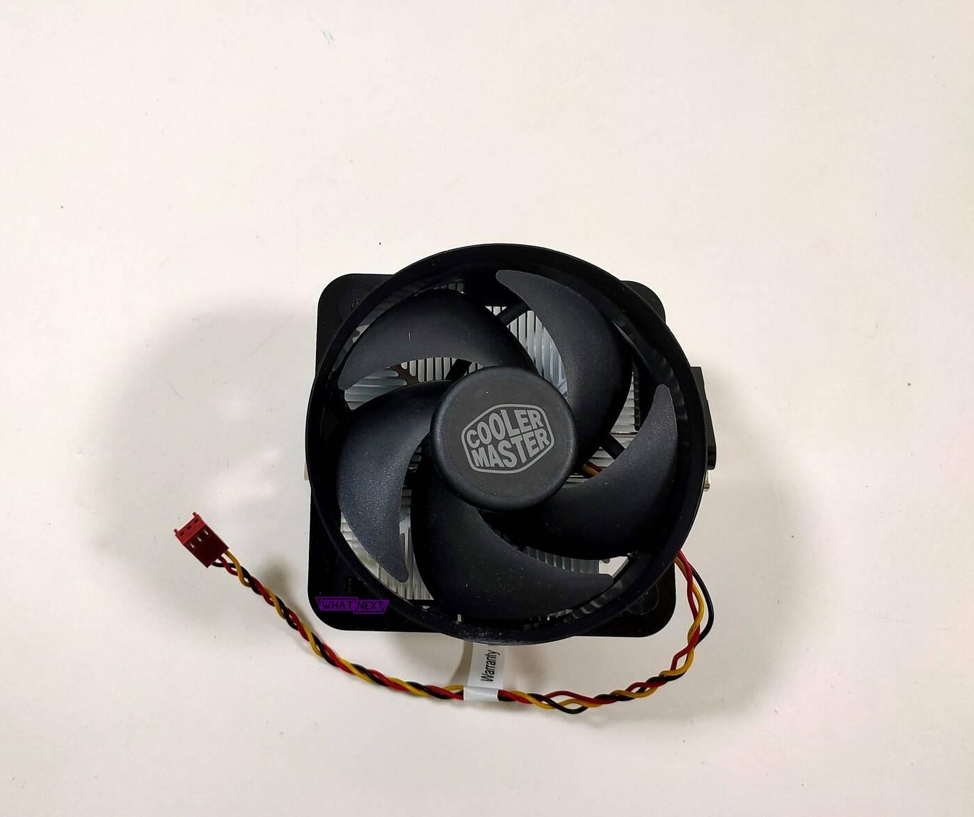 Test chłodzenia Cooler Master A50