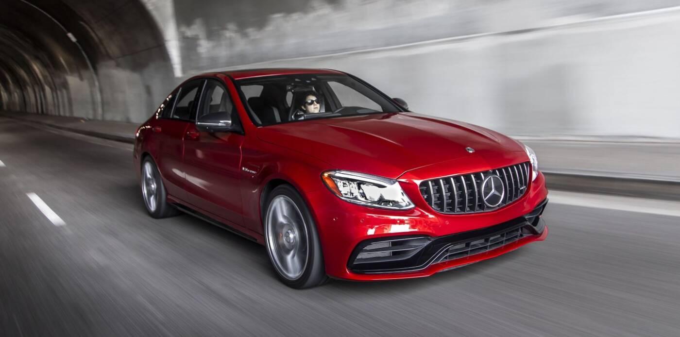 Co z silnikiem Mercedesa AMG C63?