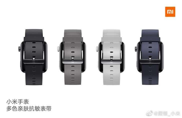 Xiaomi Mi Watch, pasek Xiaomi Mi Watch, paski Xiaomi Mi Watch, kolory pasków Xiaomi Mi Watch