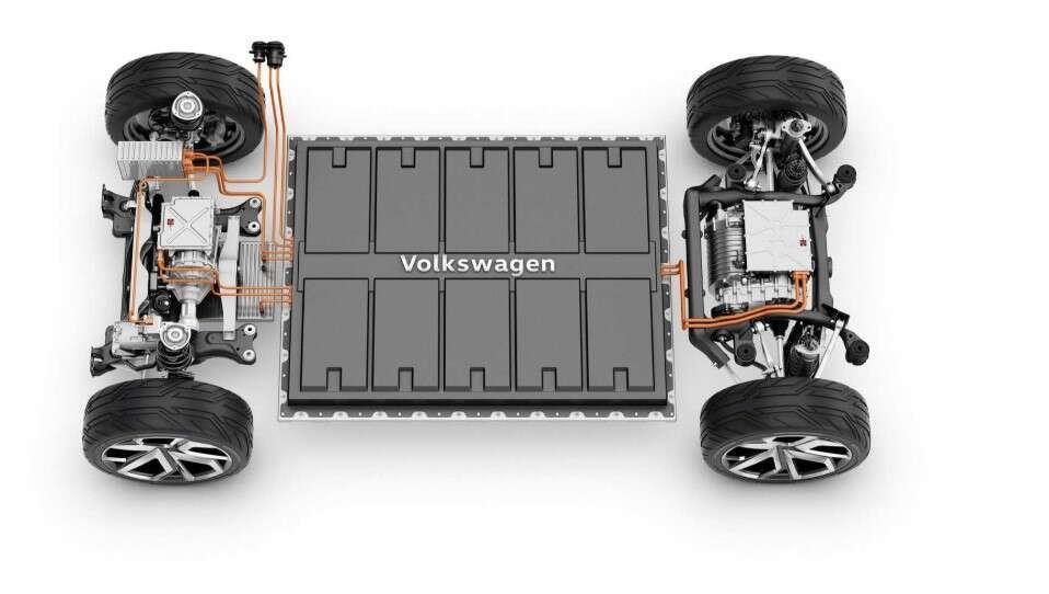 silnik Volkswagena ID.3, APP 310, elektryczny silnik Volskwagena, silnik Volkswagena