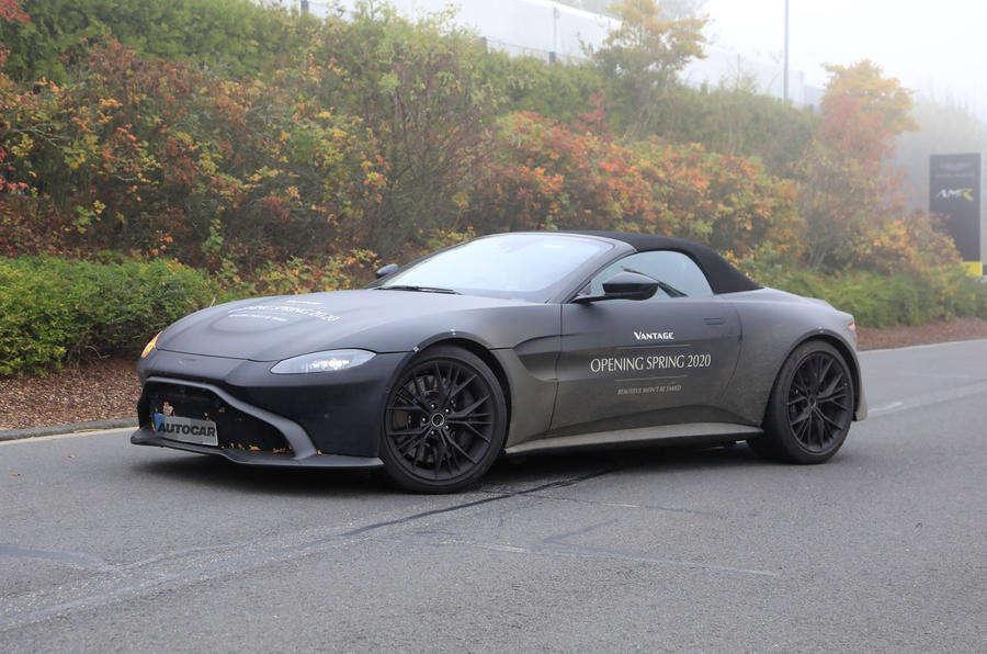 Vantage Roadster kabriolet, kabriolet Vantage, Aston Martin Vantage Roadster