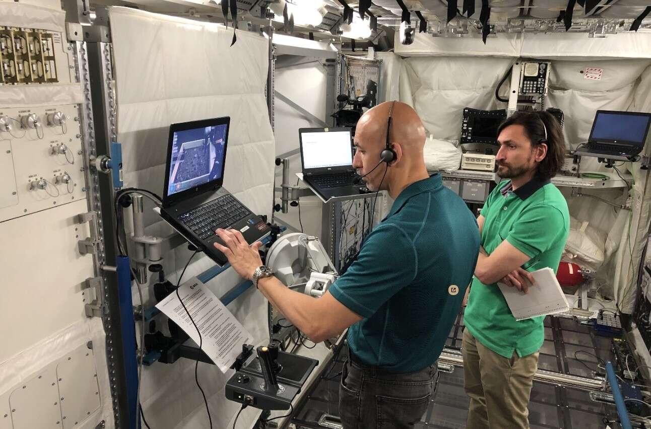 testy sterowania zdalnego, sterowanie z ISS, zdalne sterowanie łazikami, sterowanie łazikami