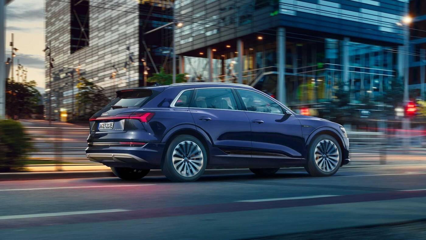 Audi E-Tron, zasięg E-Tron, dodatek zasięgu Audi E-Tron