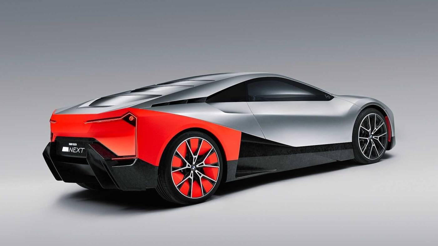 BMW M, koncept Vision M, produkcyjna wersja Vision M, elektryczny BMW M