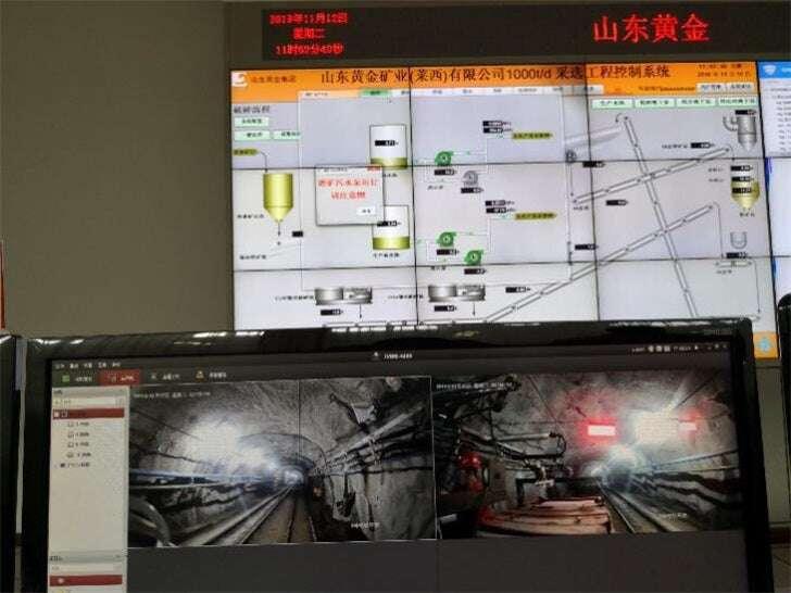 5G Chiny, sieć 5G CHiny, 5G kopalnia, 5G kopalnia złota