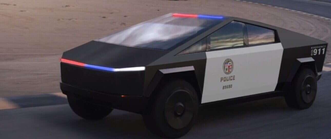 Cybertruck może być idealny dla policji, strażaków, wojska… czy Tesla trafiła w dziesiątkę?