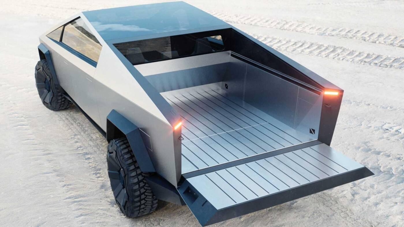 Tesla Cybertruck, Cybertruck Tesli, elektryczny pickup Tesli, ceny Cybertruck, specyfikacja Cybertruck