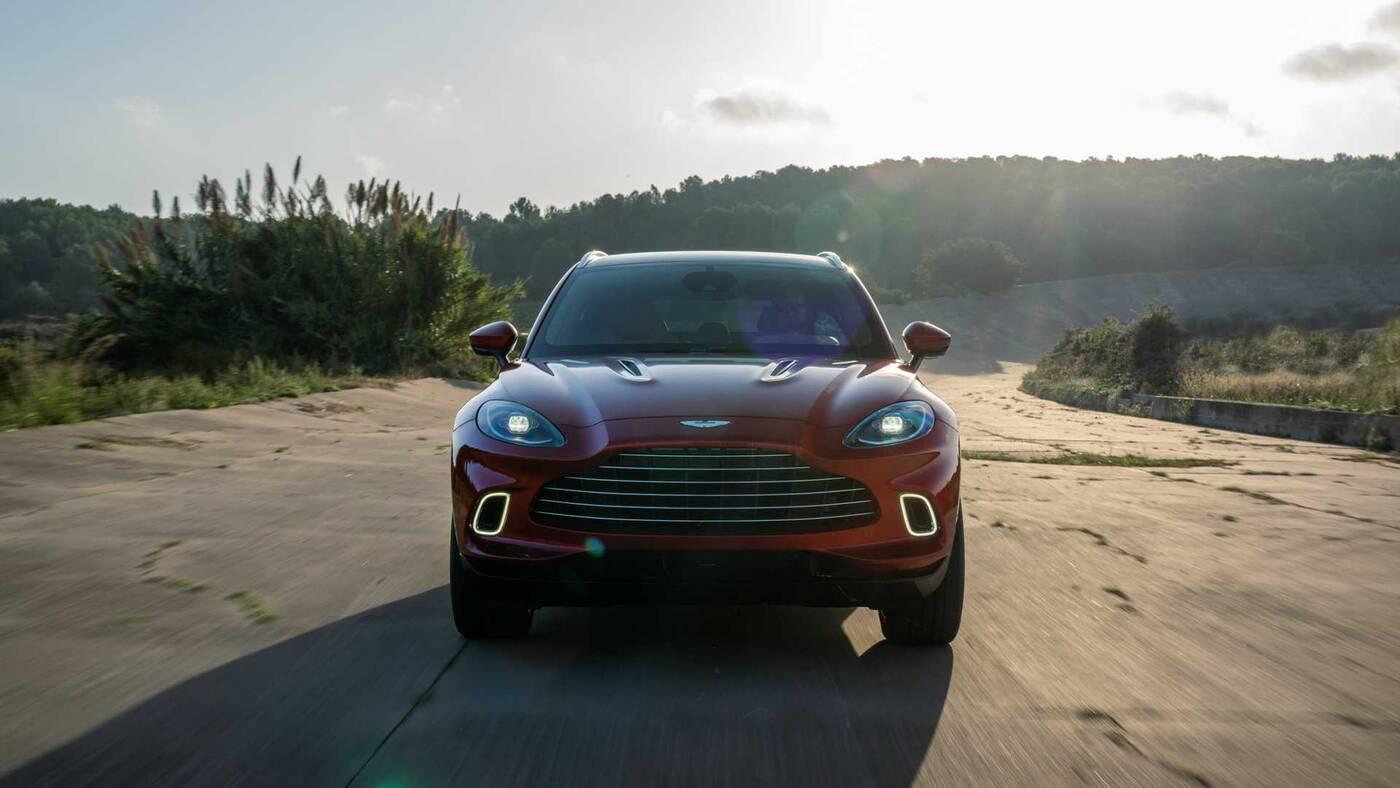 DBX Astona Martina, Aston Martin DBX, szczegóły DBX, pierwszy SUV Astona