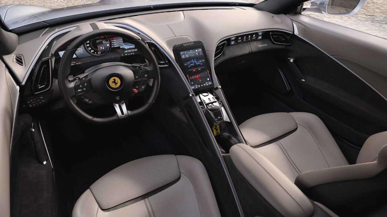 Ferrari Roma, Roma 2020, debiut Ferrari Roma, samochód Roma