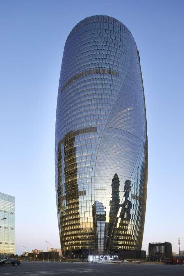 wieżowiec Leeza Soho, Leeza Soho Pekin, projekt Leeza Soho
