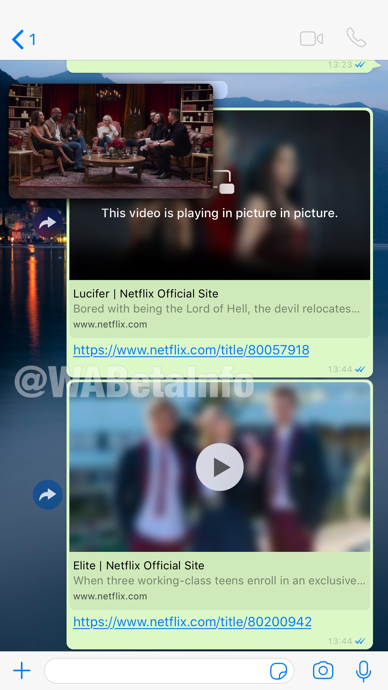 Netflix WhatsApp, filmy Netflix WhatsApp, odtwarzanie netflix WhatsApp, zwiastuny netflix WhatsApp