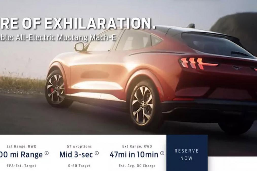 Mach-E, Mustang Mach-E, Mach-E przedpremierowo,