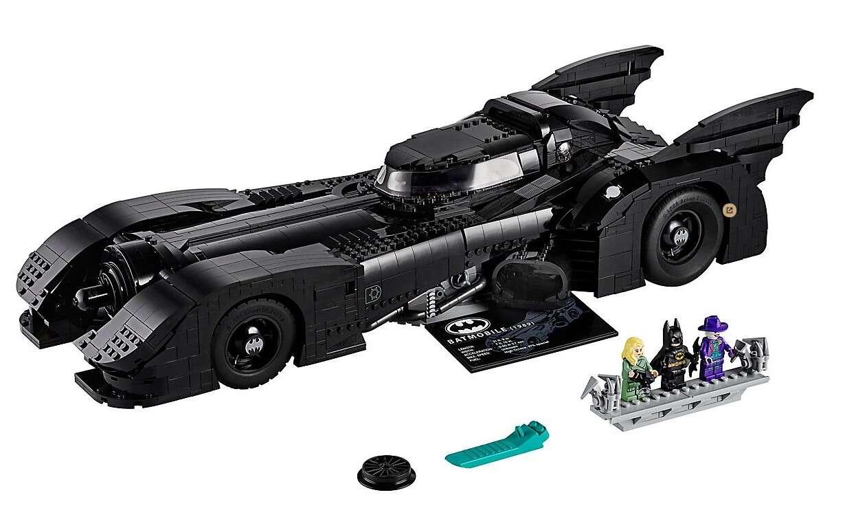 Batmobile 1989, LEGO Batman 1989, zestaw LEGO Batmobile