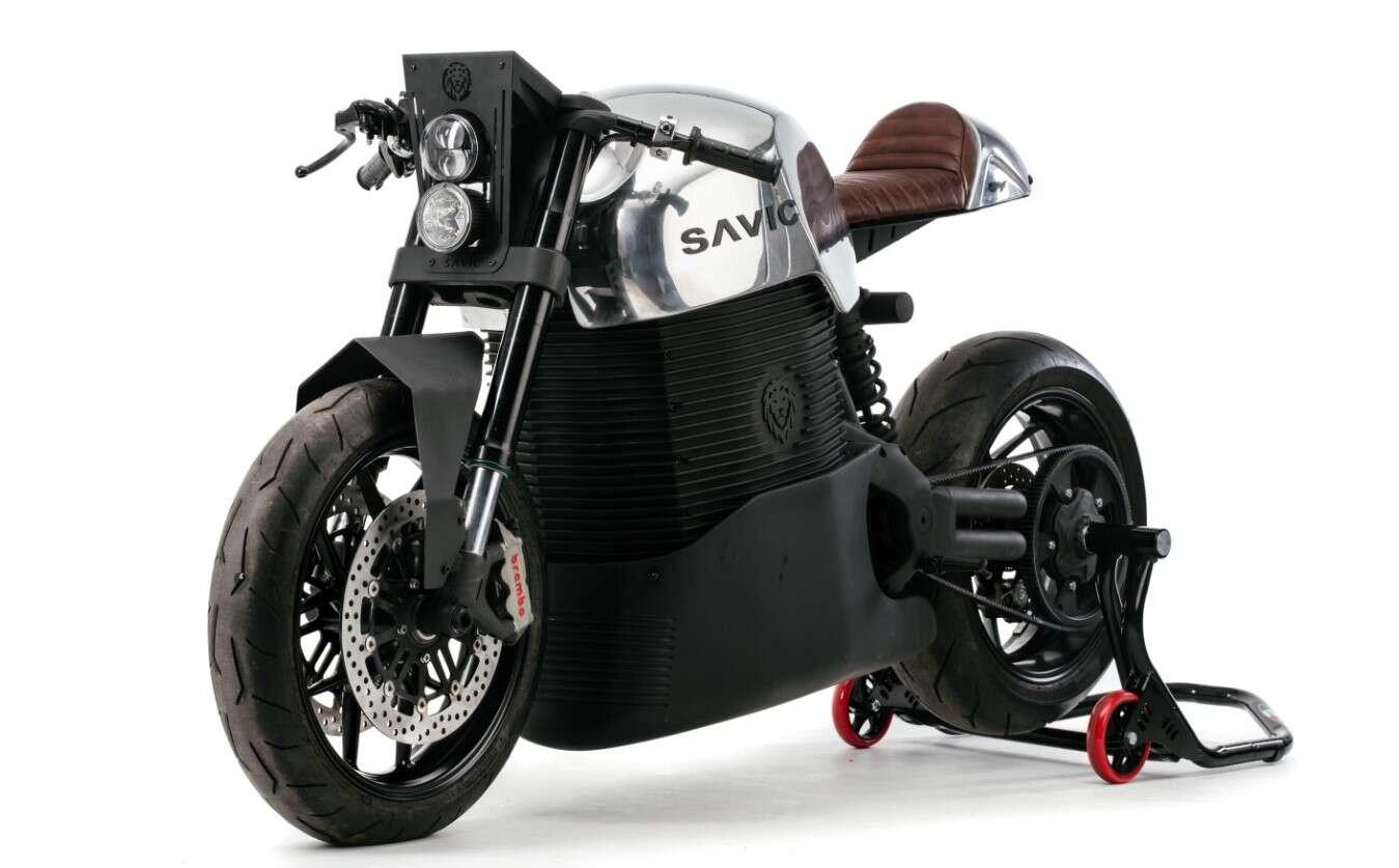 Savic, motocykle Savic, prototyp Savic, wersje Savic, Savic Alpha