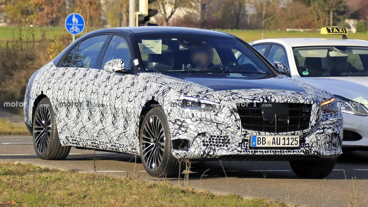 Mercedes klasy S, nowy Mercedes klasy S, Mercedes klasy S V12, silnik Mercedes klasy S