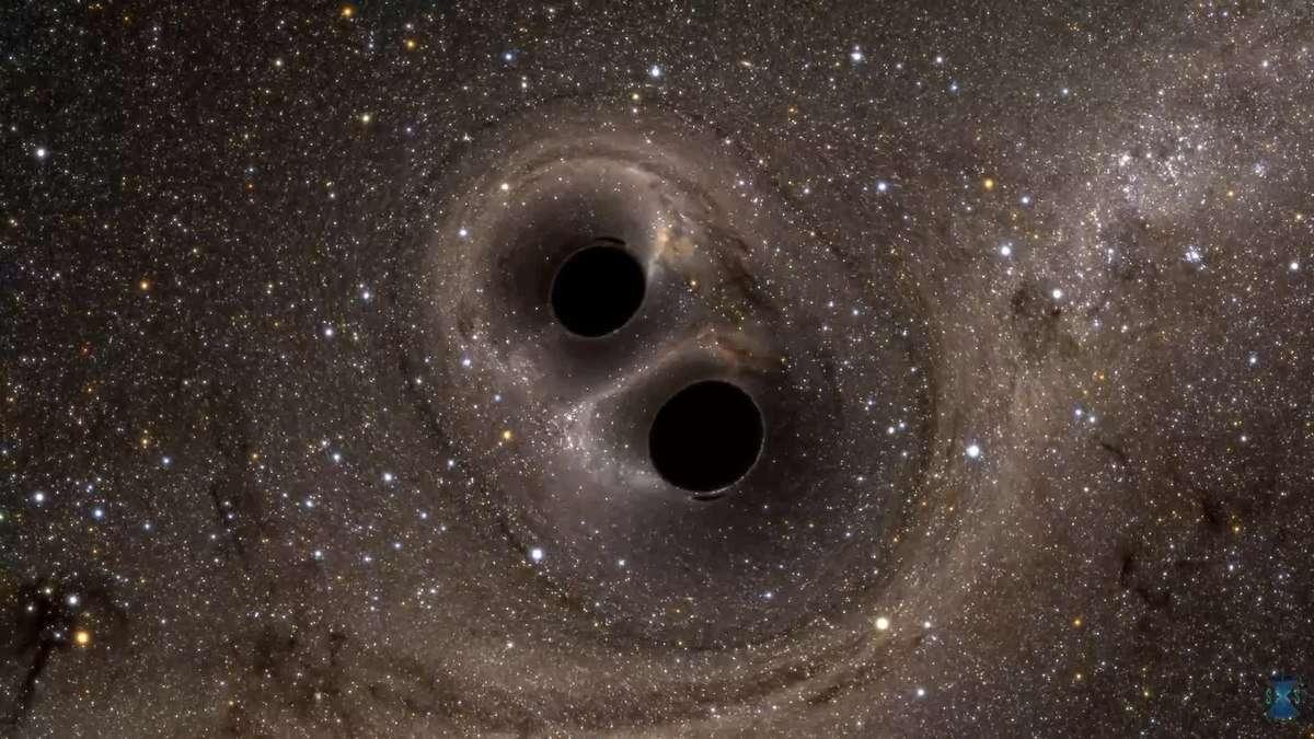 fuzja czarnych dziur, pary czarnych dziur, podwójne czarne dziury, badanie podwójnych dziur