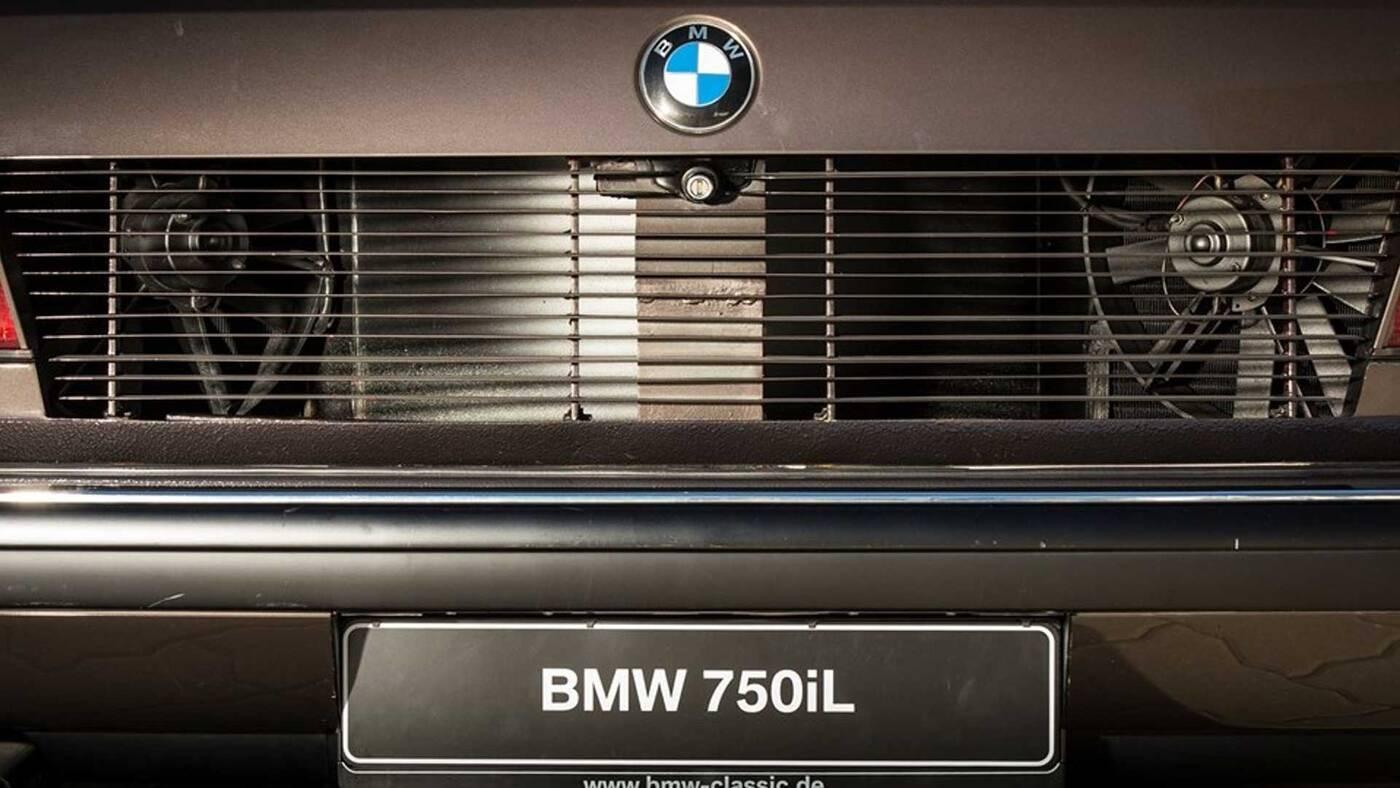 BMW 750iL Goldfish, BMW Goldfish, BMW 750il 1987, V16 w BMW
