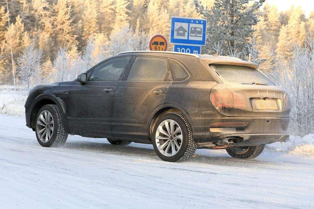 Bentley Bentayga, Bentley Bentayga 2020, odświeżony Bentayga, SUV Bentleya