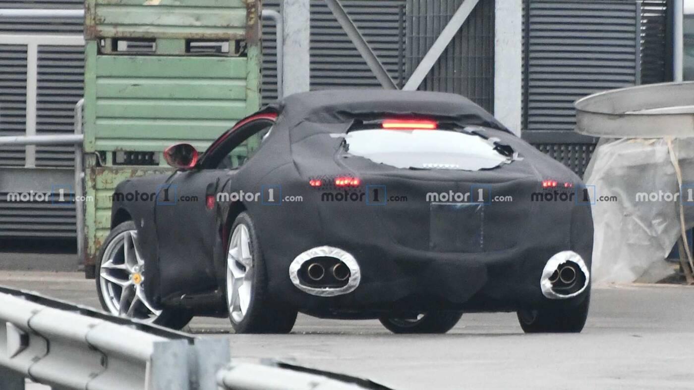 nowe Ferrari, Ferrari Portofino, Portofino coupe