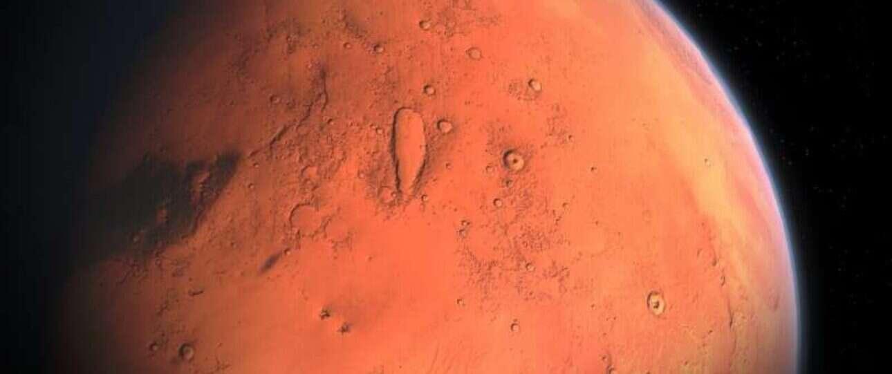 Naukowcy będą w stanie wykrywać zmiany klimatyczne w historii Marsa