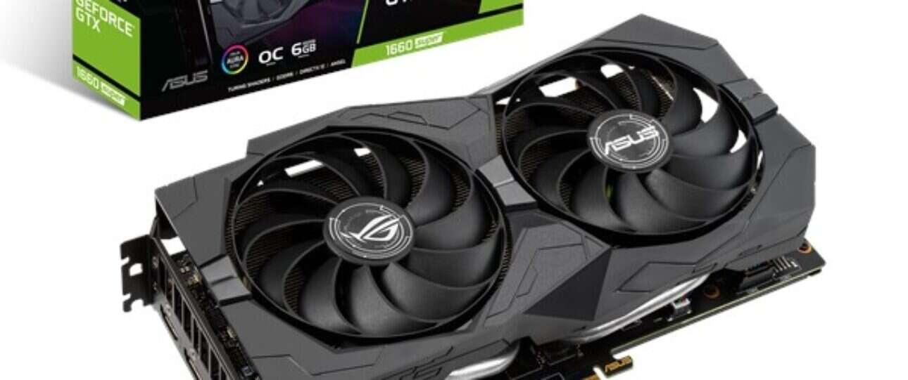 Test Asus GeForce GTX 1660 SUPER ROG Strix OC