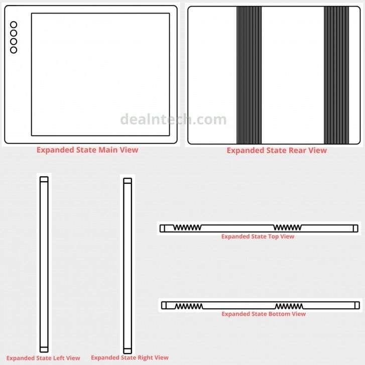 składany telefon Xiaomi, patent xiaomi