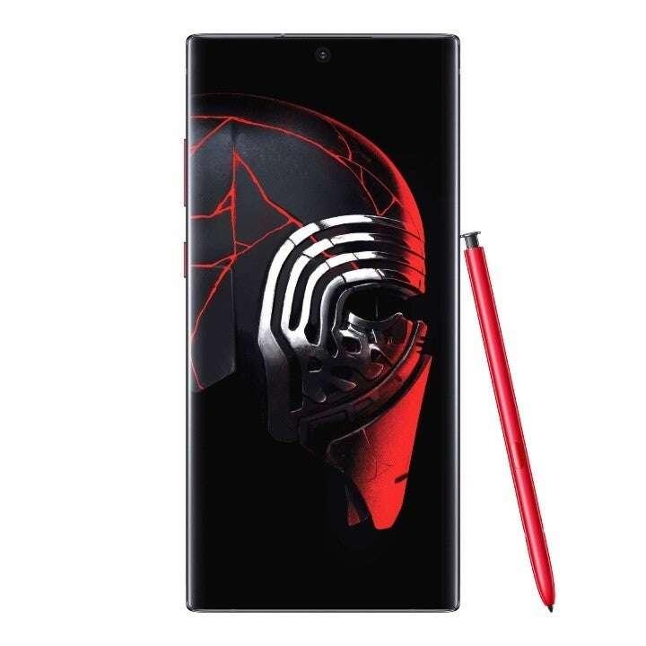 star wars Galaxy Note 10+, gwiezdne wojny Galaxy Note 10+, specjalna edycja Galaxy Note 10+